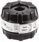 Scratching Cylinder Cap With SmartKey Tool Use With 902106, 902108 And 902109 Key Control