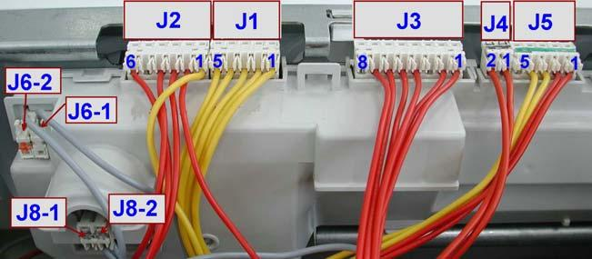 1.9 Connectors on circuit board EWM1000 J6-1: Heating element (relay) J6-2: Door safety interlock (line) J8 J8-1 line J8-2 line (neutral) EWM1000 J6 J2 J1 J3 J4 J5 J7