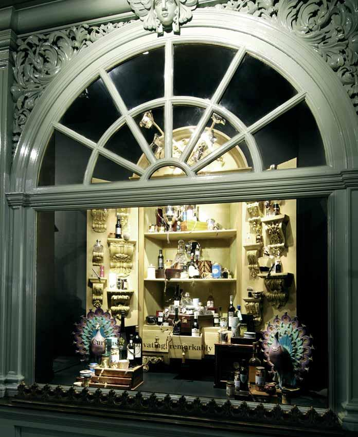 Fortnum & Mason s Cabinets of Curiosity -themed windows