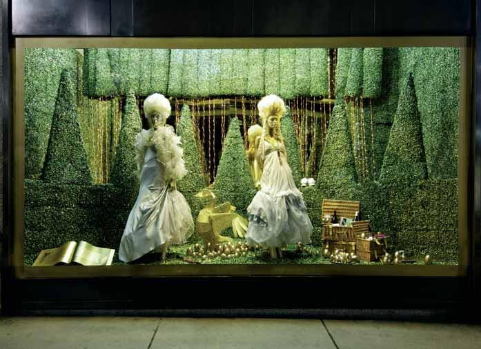 66 Christmas For many retailers, Christmas is the time when the visual merchandising team excels with its window schemes and themes.