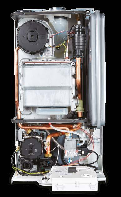 This boiler has extremely compact dimensions measuring 715mm (H) x 405mm (W) x 248mm (D) and can fit neatly within most standard kitchen cupboards.
