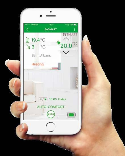 Control home heating from anywhere, via smartphone, tablet or desktop Compatible with the majority of boiler brands, not just Vokèra Manage up to 8 different heating zones from anywhere in the world