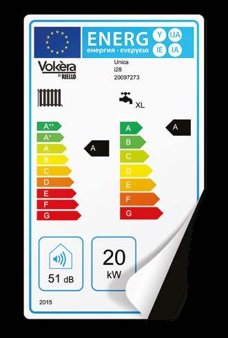 We help installers work out the right energy rating for complete Vokèra systems, so they can give you the correct label. Find out more or get help with this online at www.vokera.