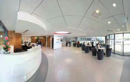 The reception and main entrance at our Worcester headquarters Worcester is dedicated to providing energy efficient gas- and oil-fired condensing boilers, as well as an extensive range of renewable