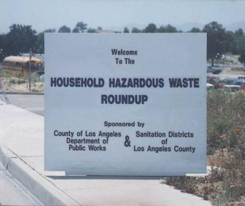 The Household Hazardous Waste Collection Program (HHW) gives Los Angeles County residents a legal and cost-free way to dispose of unwanted household chemicals that cannot be disposed of in the