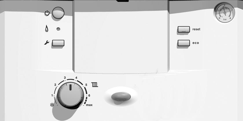CONTROLS To gain access to the appliance controls push at the top of the flap and release
