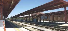 Within the next decade, the Diridon Station will serve light rail, BART, and high-speed rail.