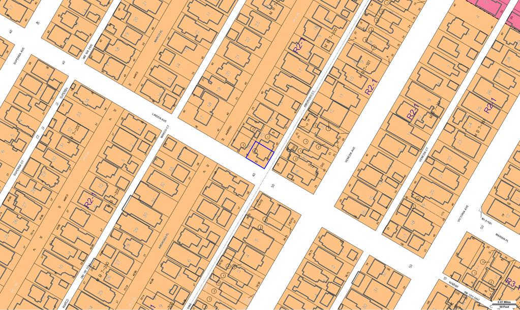 ZIMAS PUBLIC Generalized Zoning 07/30/2014 City of Los Angeles Department of City Planning Address: 2012 S LINDEN AVE Tract: VENICE ANNEX Zoning: