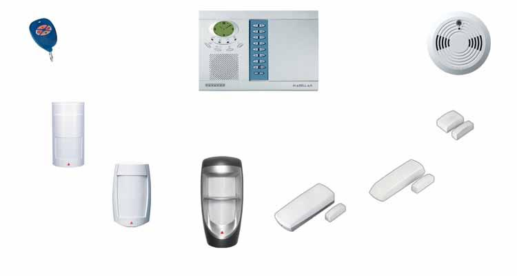 System Overview MG-REM1 Magellan Remote Control with Backlit Buttons MG-6060 Magellan Main Console SD738 / ** Smoke Detector MG-PMD1P* Analog Single-Optic PIR (18kg/40lb Pet Immunity) MG-DCTXP Door